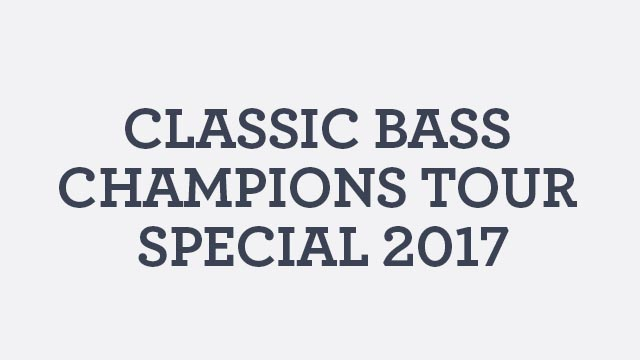 Classic Bass Champions Tour Special